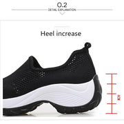Pearlzone_Outdoor Casual Shoes Light Breathable Mesh Non-slip Walking Shoes 116769
