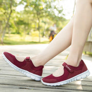 Women's  Casual Velcro Cushion and Air Mesh Walking Shoes