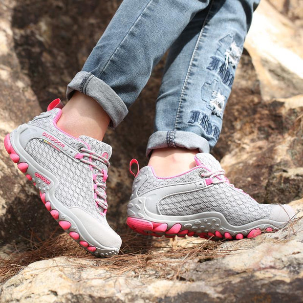 Women's Breathable Mesh Non-slip Hiking Shoes