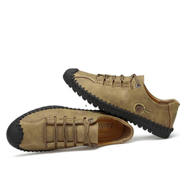 Outdoor leisure shoes wear low help men's individual character with big yards in British tide shoes