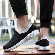 Men's Casual Non-slip Flying Woven Shoes