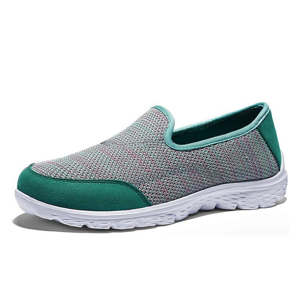 Men's Breathable Mesh Soft Sole Flat Shoes