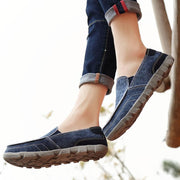 Men's fashion casual outdoor canvas shoes are light and breathable 123326