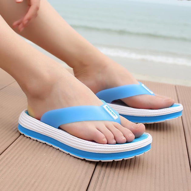 852d471420af Pearlyo Women s Flip-flop Soft Bottom Beach Rubber Sandals – pearlyo