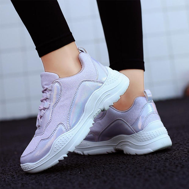 Women's Breathable Comfortable Casual Soft Sole Lightweight Sneakers