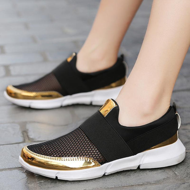 Women's Shoes Breathable Large Size Anti-skid Mesh Shoes 36-42 124018
