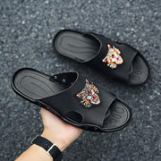 Men's summer breathable soft comfortable sandals and slippers 130214