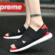 Man Summer Fashion Outdoor Casual Beach Sandal Non-Slip Comfortable Soft Open-Toed Shoes 129229
