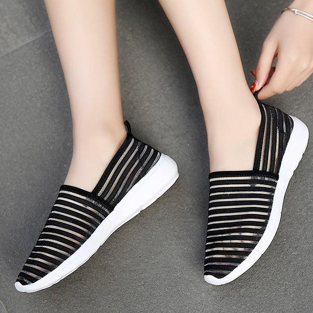 Women's Summer Mesh Breathable Comfortable Casual Loafers