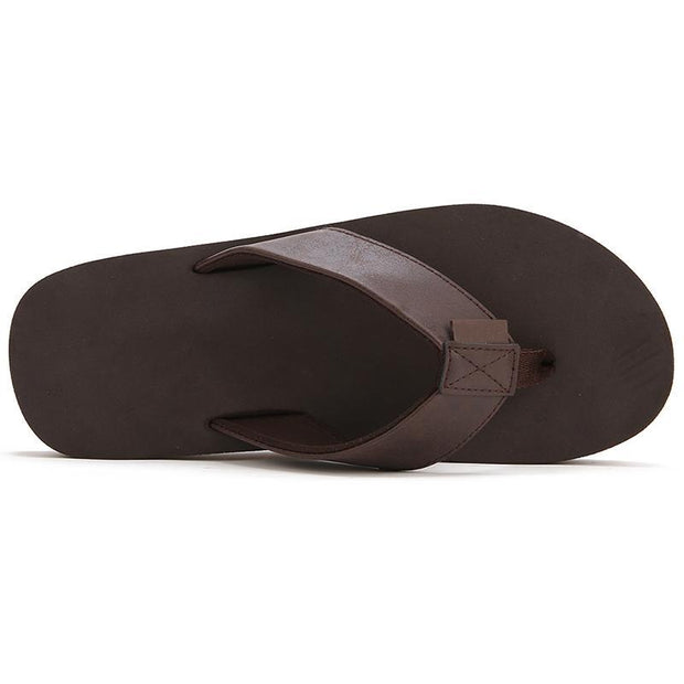 Mens Flip Flops Beach Sandals Lightweight EVA Sole Comfort Slippers