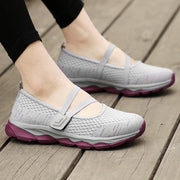 Women's Summer Breathable Mesh Cloth Anti-slip Hiking Shoes