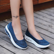 Women's Shoes New Comfortable Casual Thick Bottom Large Size Shoes