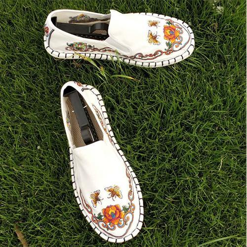 Women summer cotton and linen retro casual fashion national wind shoes 134265