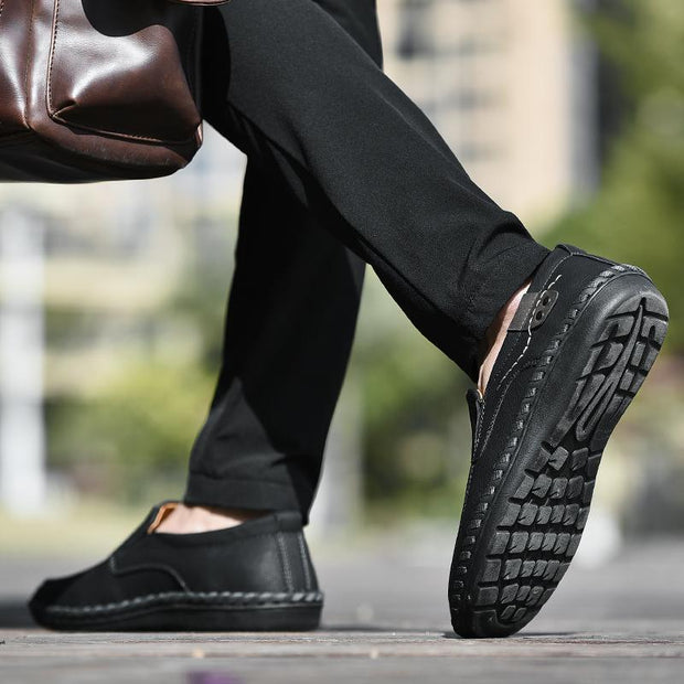 Men's casual shoes business leather shoes 134561