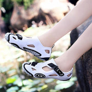 Men's Shoes Individualized Hole Shoes Beach Sandals 134585