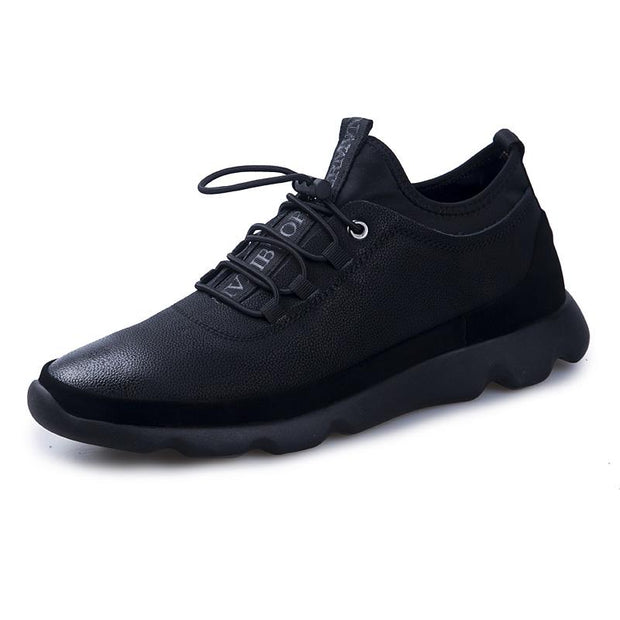135942 Men Casual Shoes Walking Shoes Sneakers Breathable Flat Lace-Up Shoes