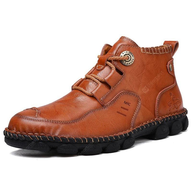 Men Leather Boots – pearlyo