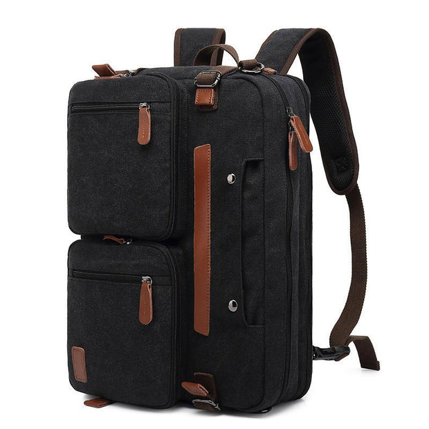 136654 Men's usb multifunctional simple waterproof nylon student travel men's computer backpack