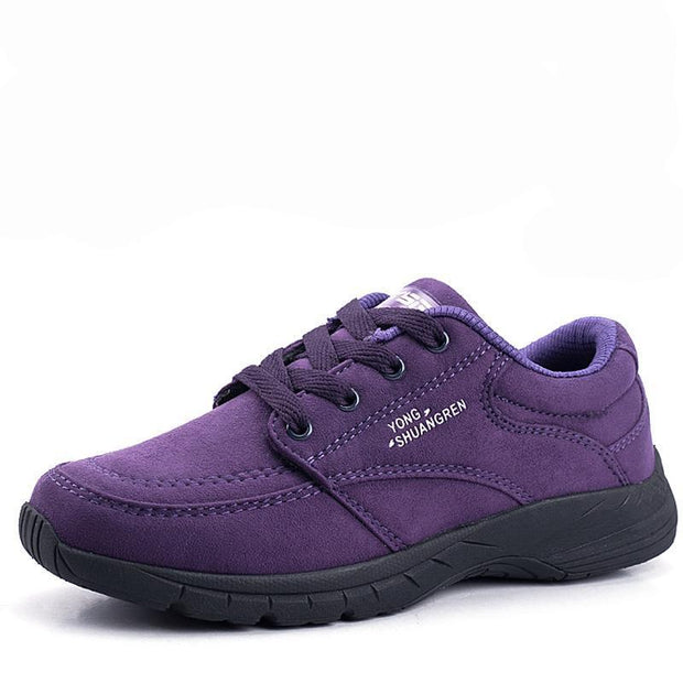 Autumn and Winter New Middle-aged Walking Shoes Female Casual Sports Shoes