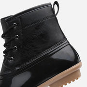 Women's blasting waterproof high-top plus velvet boots sports shoes