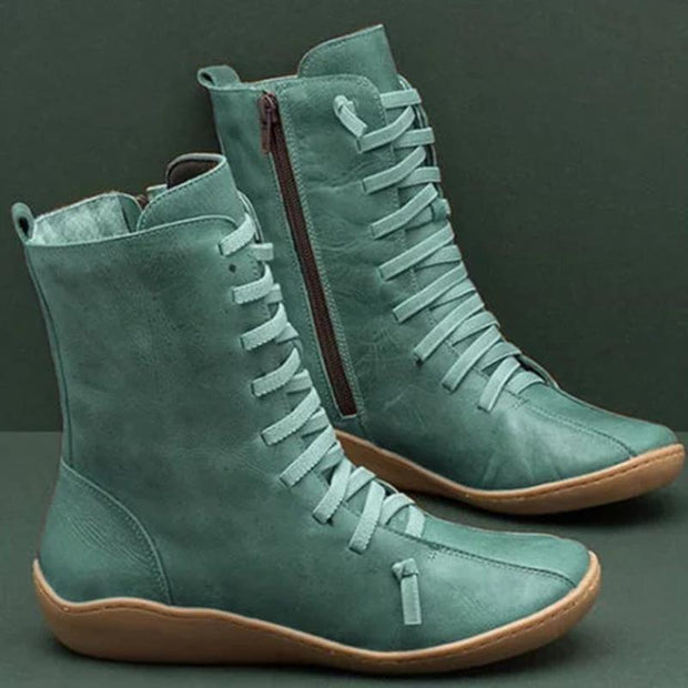 Women's Vintage Style Soft Sole Boot Shoe