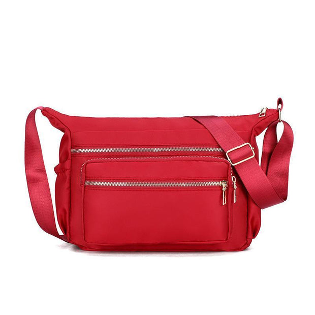 Women's New Korean Version Of The Multi-Layer Waterproof Oxford Outdoor Leisure Travel Shoulder Bag