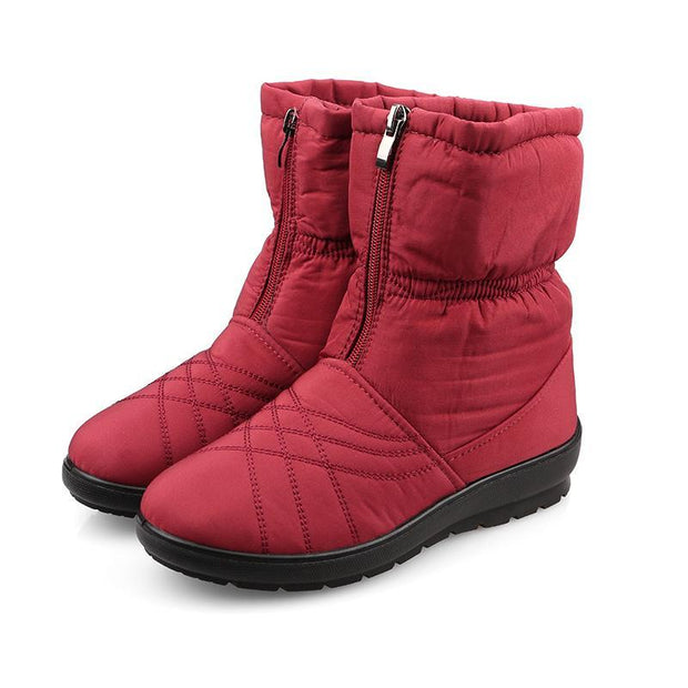 Women Winter New Anti-skiing Boots Warm Cotton Shoes
