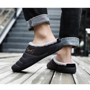 Men's Explosions Warm And Velvet Fashion Cotton Slippers