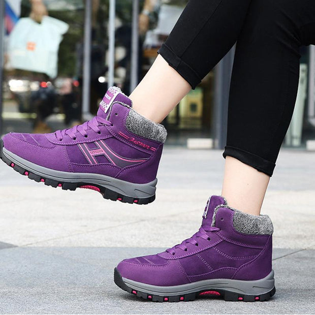 Women's Shoes Cotton Shoes Thick Non-Slip Old Shoes Winter Snow Ankle Boots