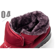 Women cotton shoes thickening plus velvet snow boots