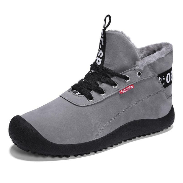 138202 Men cotton shoes anti-slip walking shoes casual travel sports shoes