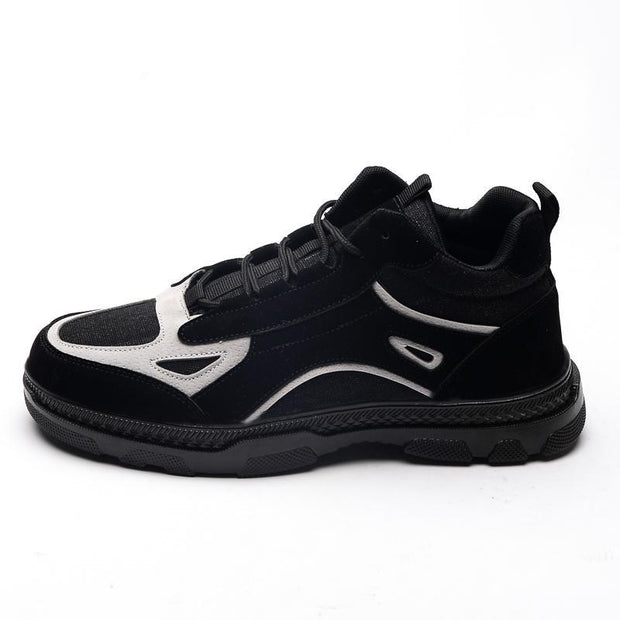 Men's new casual shoes Korean version of the trend to help fashion sports shoes