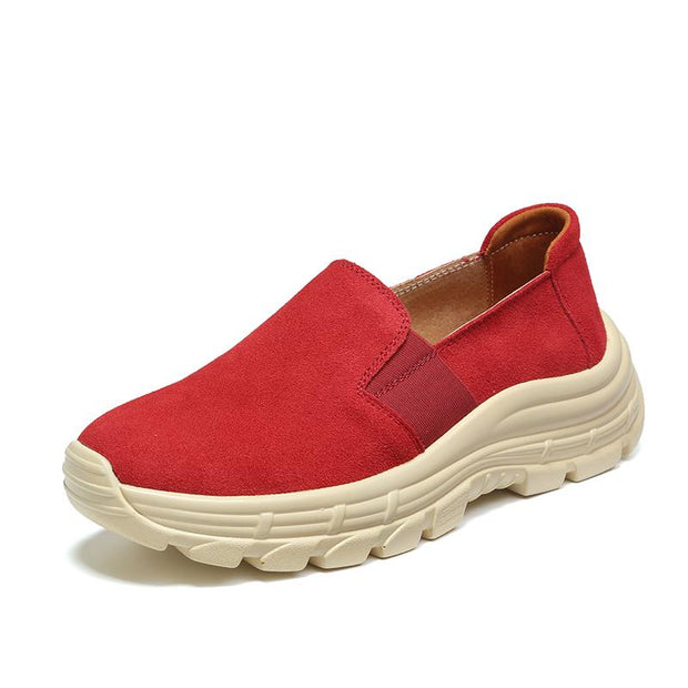 Women increased large base shoe breathable and comfortable sneakers