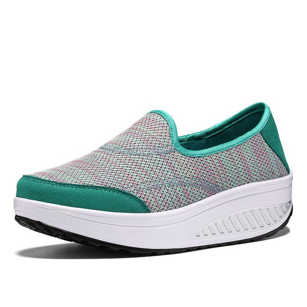 Women pure color shake shoes shoes sneakers