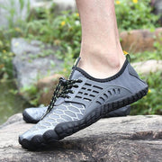 136176 Men Fabric Non Slip Quick Drying Toe Protective Water Shoes