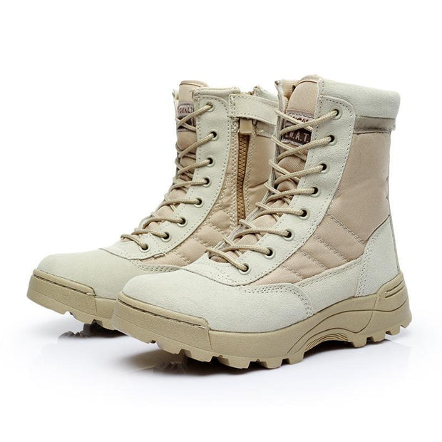 137951  Men's outdoor desert skid combat army fan hiking boots