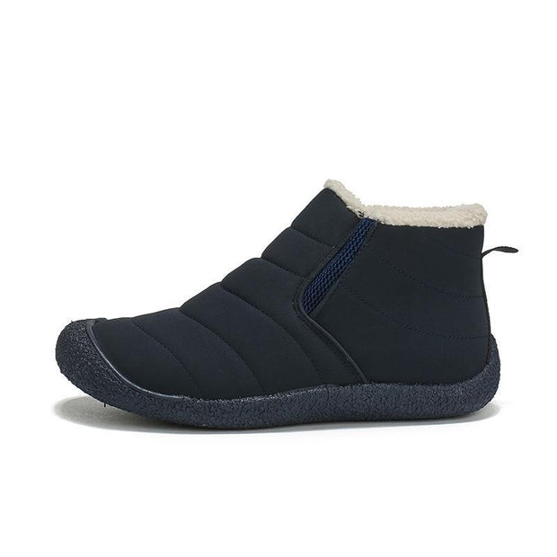 138110 Men plus velvet cotton shoes sports outdoor warm cotton shoes