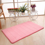 138828 New Thickened Coral Velvet Memory Foam Rug Bathroom Mat