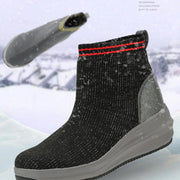 Women's warm high help boots socks shoes comfortable in winter