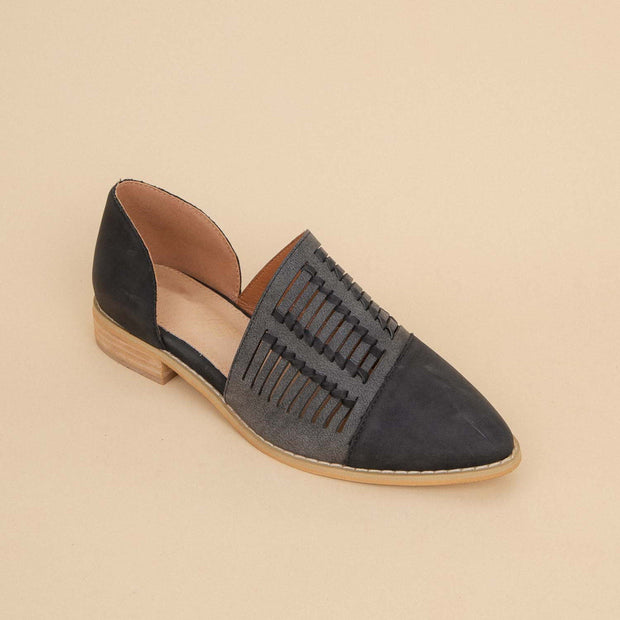 Women's Hand-Woven Pointed Flats