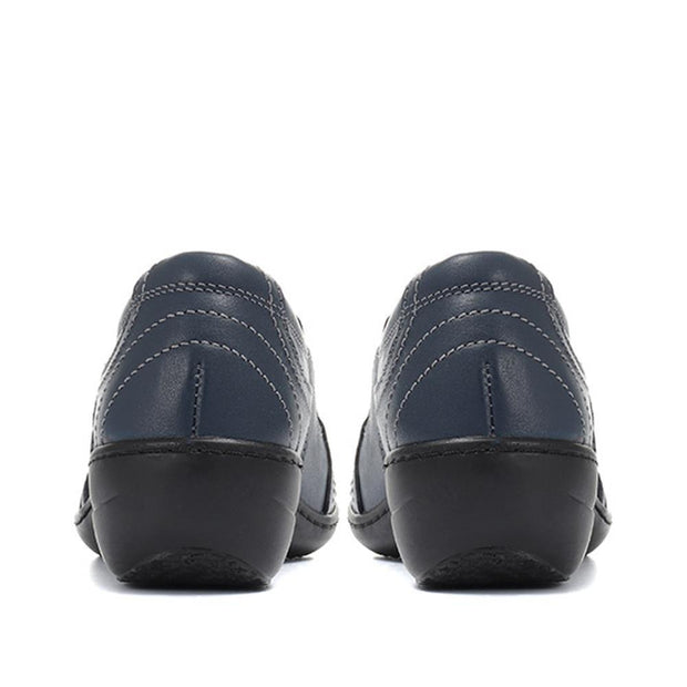 Women's Casual Leather Slip-On