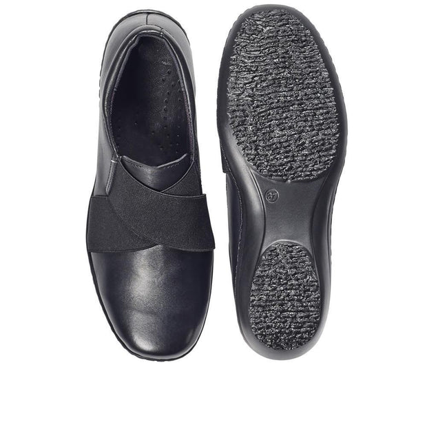 Women's  Lightweight Leather Slip-On