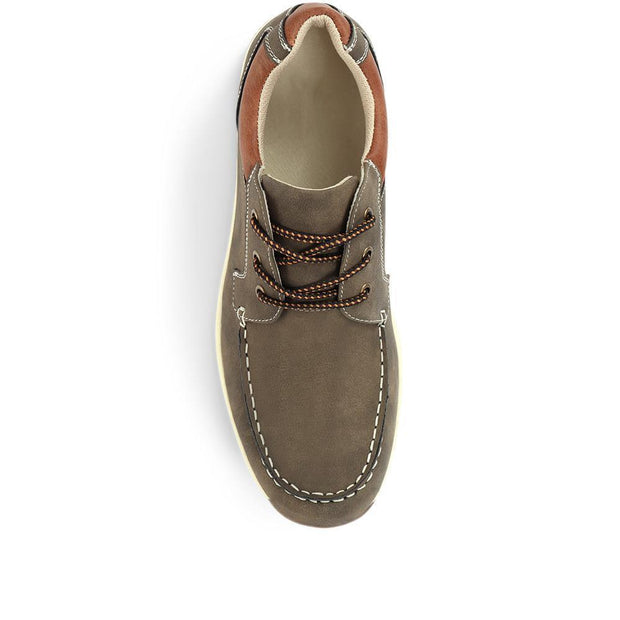 Men's Lace-Up Casual Boat Shoes