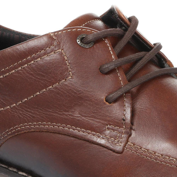 Men's Casual Leather Derby Shoes