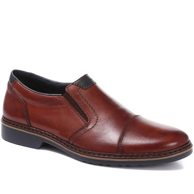 Men's Lightweight Leather Slip-On Shoes