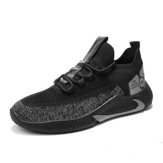 Men's Knitted Breathable Soft Light Weight Running Sport Casual Shoes