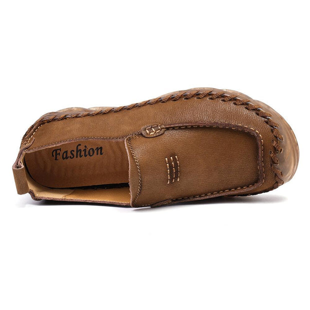 Men's  Outdoor Anti-collision Comfort Soft Microfiber Leather Loafers