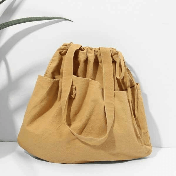 Women's Tote Bag With Bow Detail