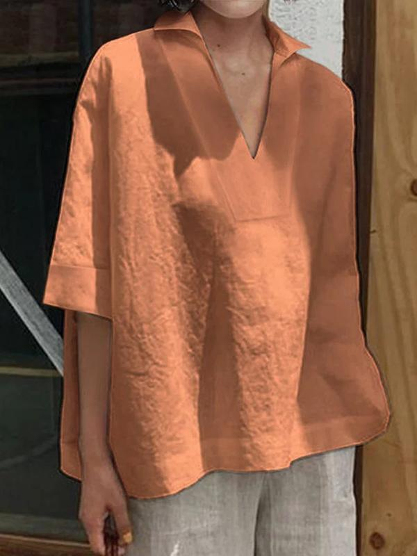 Women Casual Tops Tunic Blouse Shirt