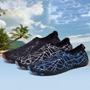 Men's Large Size Fabric Quick Drying Snorkeling Beach Casual Water Shoes